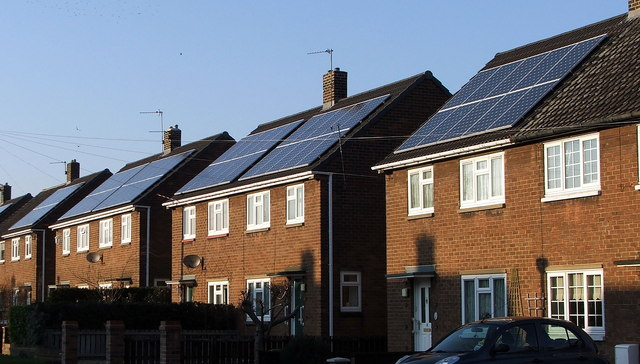 Solar neighbourhoods are becoming increasingly common.