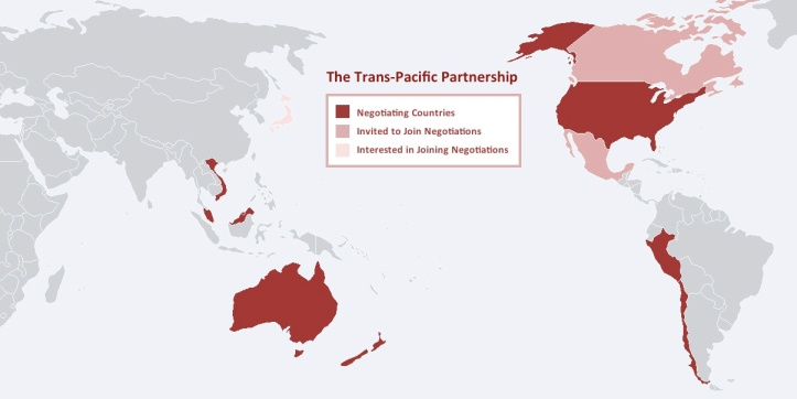 Countries across the Pacific are signing the land-mark multi-lateral trade agreement