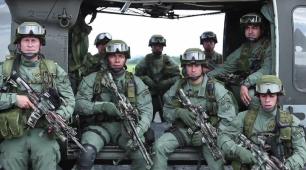 DEA Agents working alongside Columbian Commandos to tackle drug producers
