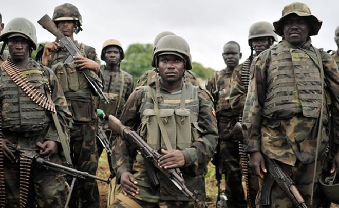 African Union troops prepare to fight Al-Shebab forces