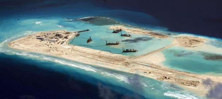 China has been constructing islands across the South Pacific.