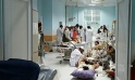 Médecins Sans Frontières medical personnel treat civilians injured following an offensive against Taliban militants by Afghan and coalition forces, at the MSF hospital in Kunduz. Photograph: MSF/AFP/Getty Images