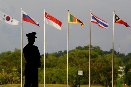 The 20th ASEAN Regional Forum was held in Brunei. (Photo/CFP)