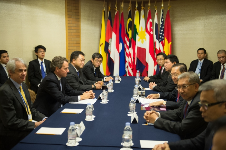 A meeting of the ASEAN general secretaries, 2005 source:wikicommons