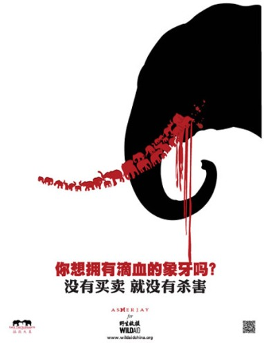 Anti-ivory campaign
