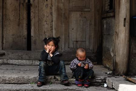 A recent All-China Women's Federation survey estimated that there are 61 million rural left-behind children in China. Source: Women of China