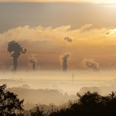 Air pollution from fossil fuels are a common sight across the globe.