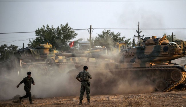VIDEO: Turkish Forces Battle ISIS in Syria to Cleanse the Borderline