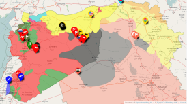 Syrian Civil War map 23 09