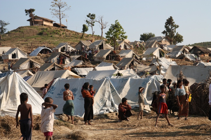 Taung Pauw Refugee Camp, Myanmar/Bangladesh Border. Photo: Flickr